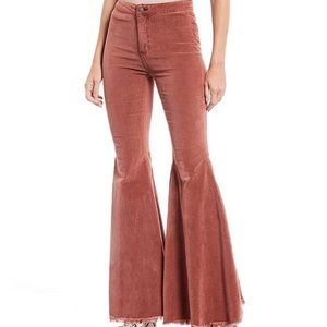 NWT Free People Just Float on Cord Flare 24 & 25